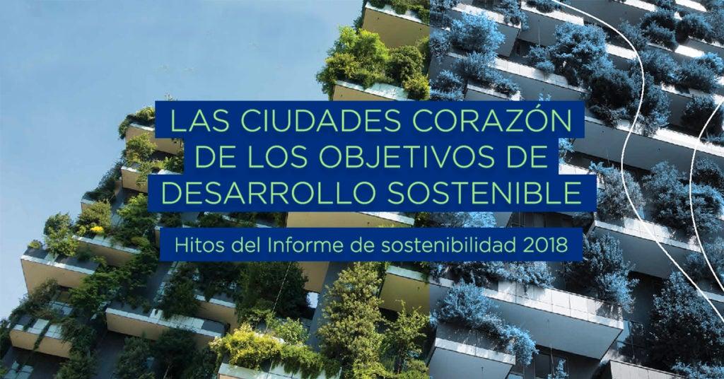 Las ciudades corazón de los Objetivos de Desarrollo Sostenible: hitos del Informe de Sostenibilidad 2018 del BID