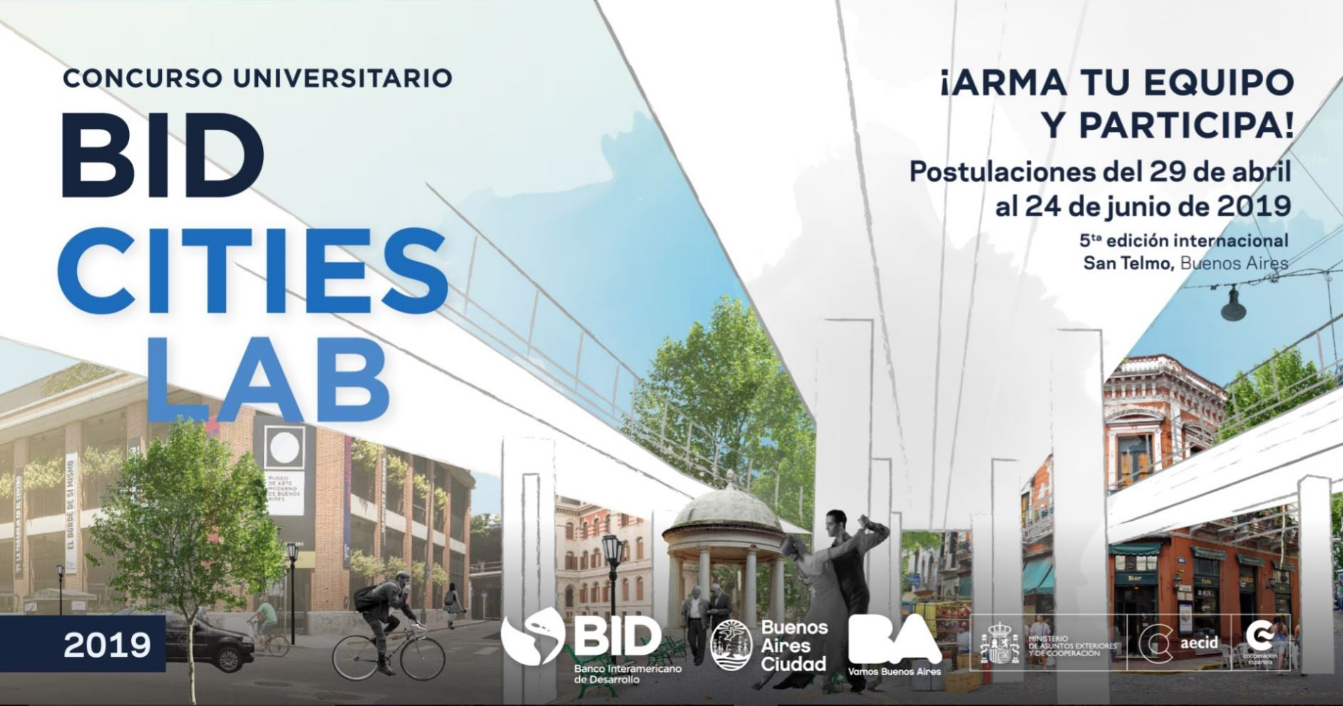 Concurso BID CitiesLab 2019, San Telmo
