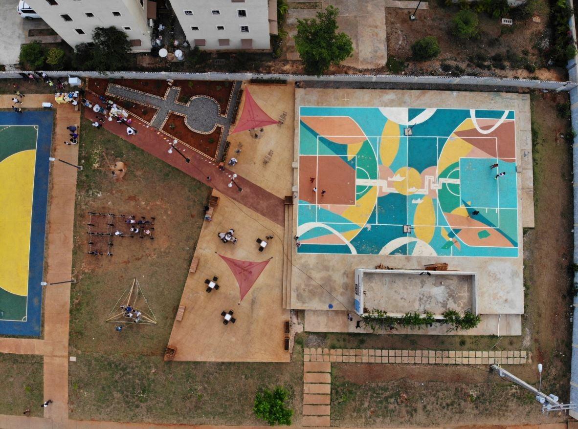 Plaza de bolsillo - Ciudad Juan Bosh, Santo Domingo Este