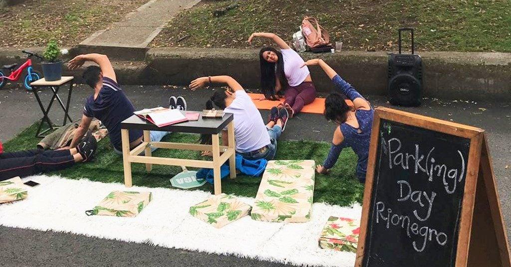 Park(ing) Day Latinoamérica 2019: reimaginando las ciudades con menos estacionamientos y más espacio público para las personas