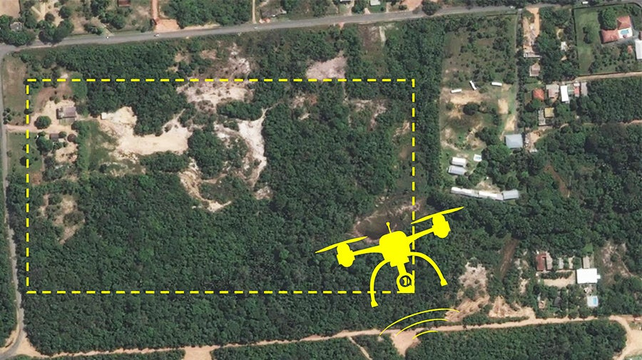 Monitoring informal settlement growth in Manaus, Brazil with drones