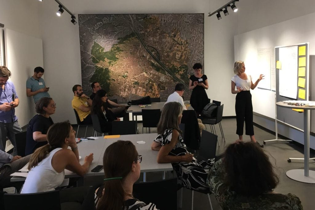 Vienna Exchange Program in urban planning, July – August 2019