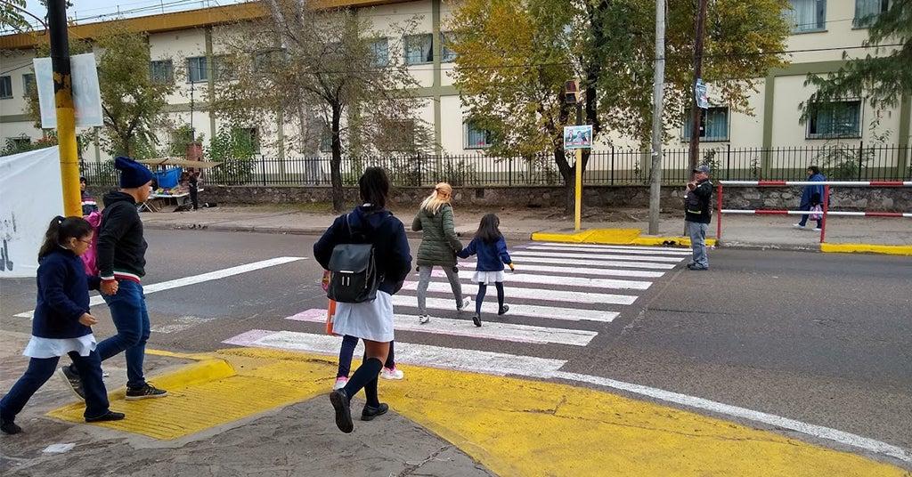 Camino escolar, Palpalá, Jujuy