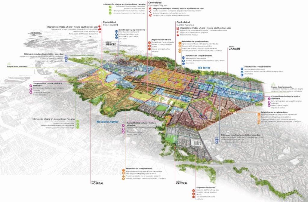 San José: programas y proyectos del Plan 4D-2050
