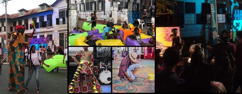 Cultura y revitalización urbana - Surinam