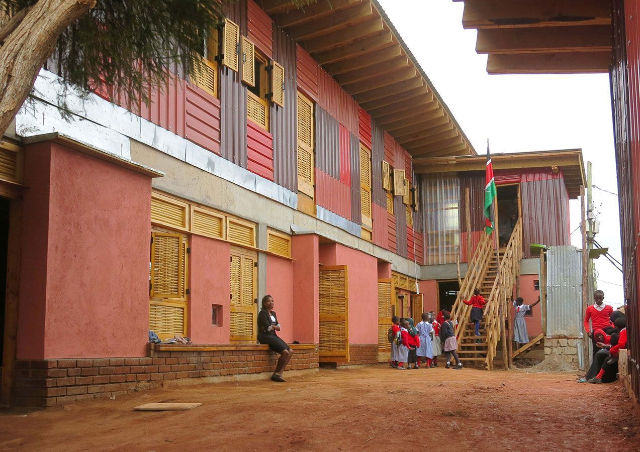 Kibera Public Space Project. Crédito: Kounkuey Design Initiative
