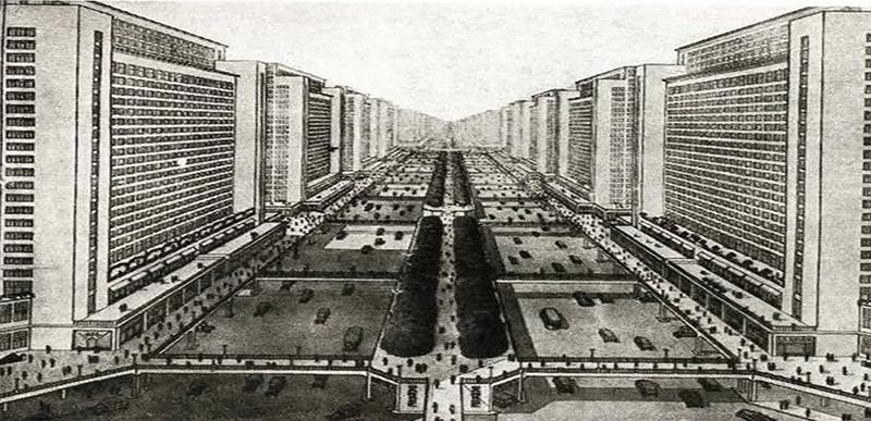 La Ville Radieuse Le Corbusier 1925