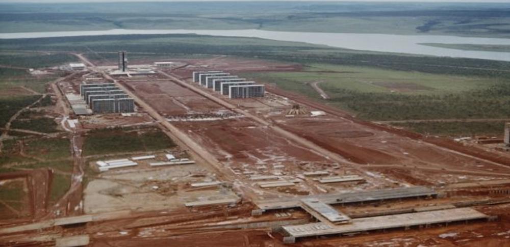 Brasilia en construcción circa 1959 Harvey Meston