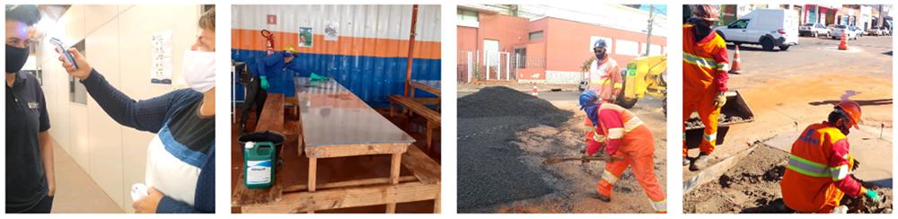 Medidas de seguridad en la Construcción de Reviva Campo Grande (Comunicado de prensa / Engepar)