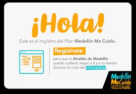 Aplicación Medellín me cuida. Medellin.gov.co