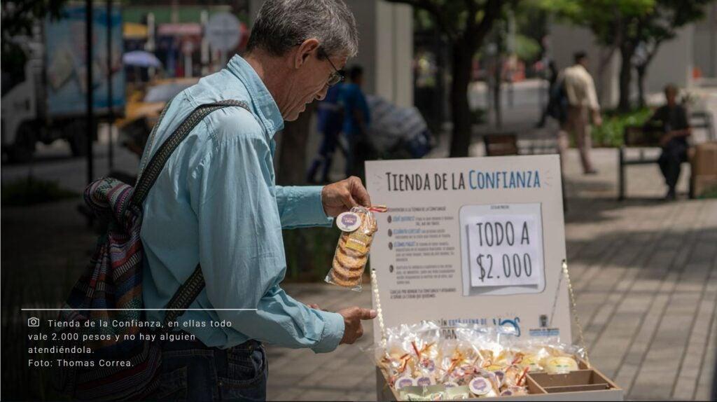 Tienda de la confianza. Thomas Correa. Ciudadanos como vos.