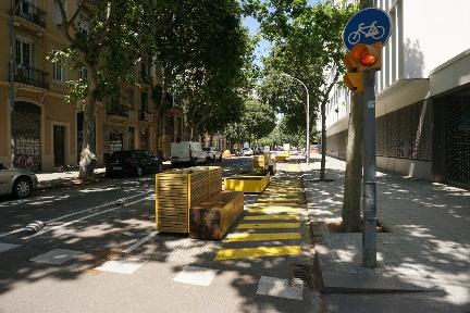 Ampliacion área para caminar en Barcelona