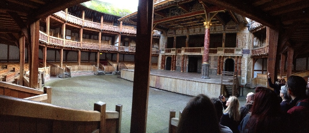 The Globe Theatre in London is a small open-air theatre Replica