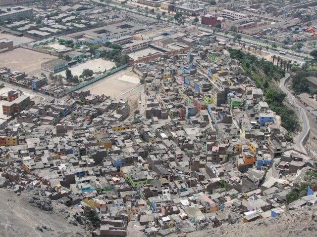 Barriada de Lima. Foto: Jorge Gobbi