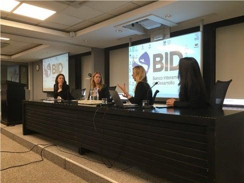 Especialistas BID violencia mujer ciudades América Latina