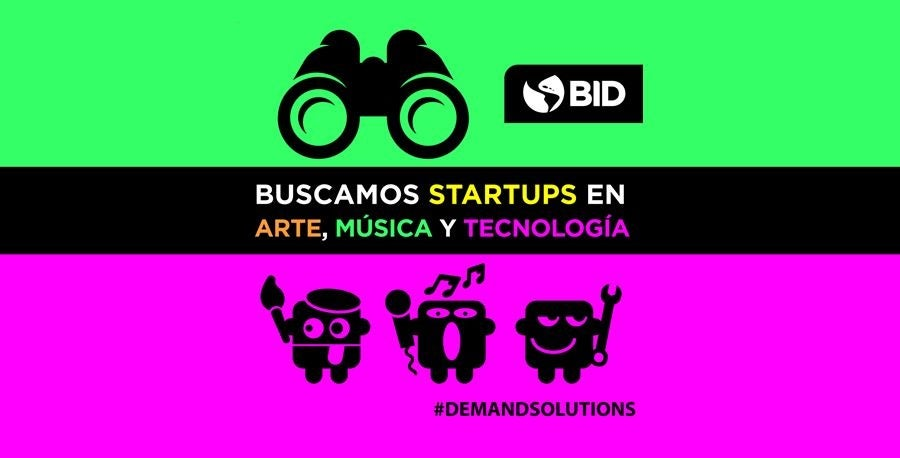 Concurso startups más innovadoras de Latinoamérica y el Caribe en las industrias creativas y culturales