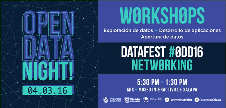 3 talleres fundamentales en un hackaton de datos abiertos