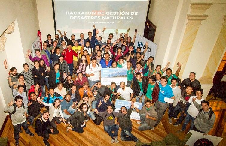 14 Proyectos presentados en el hackaton de Quito sobre ciudades resilientes