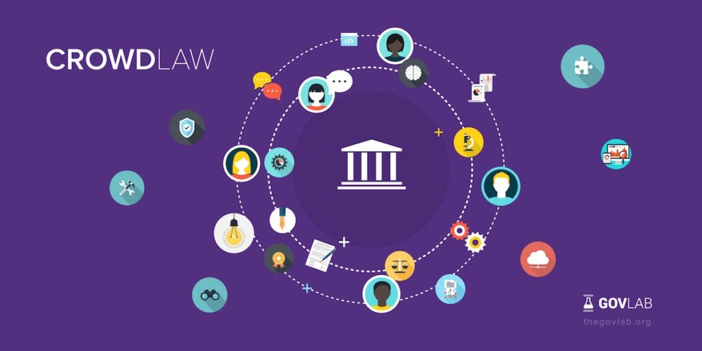 CrowdLaw: how to design a public participation initiative for lawmaking