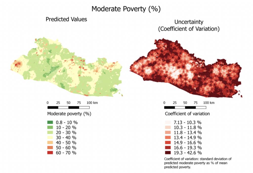 Gráfico de los resultados del modelo de condiciones socioeconómicas