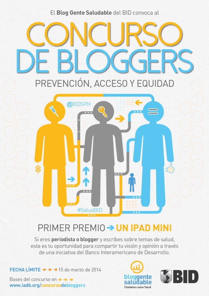 Llamado a periodistas y bloggers
