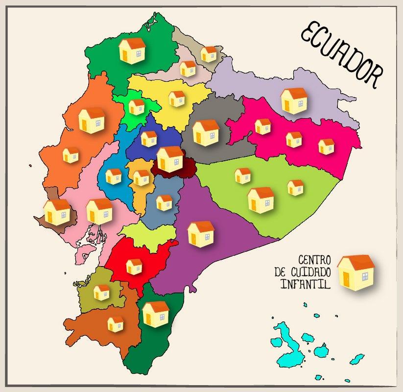 Reinventando los centros de desarrollo infantil en Ecuador