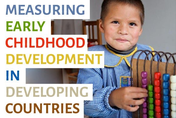 3 Key Indicators to Measure Early Childhood Development
