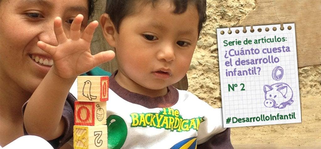 Conocemos los beneficios del desarrollo infantil temprano, ¿pero cuáles son sus costos?