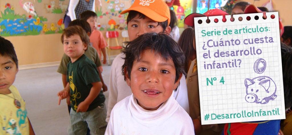 ¿Cuánto cuesta llevar a escala un programa de desarrollo infantil?