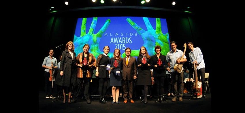 ganadores premios ALAS 2015 BID