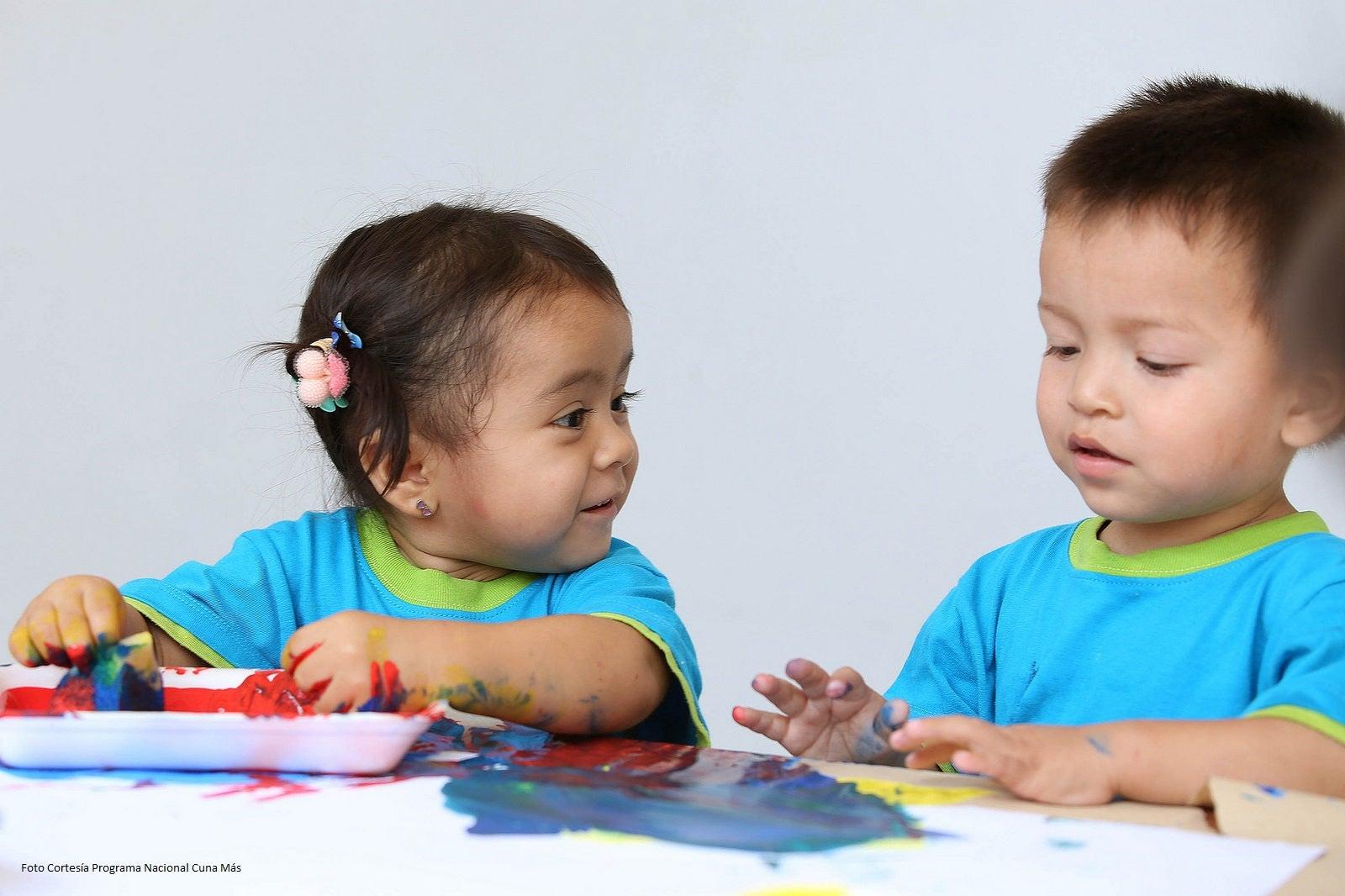 Relación entre jardines infantiles y conexiones neuronales