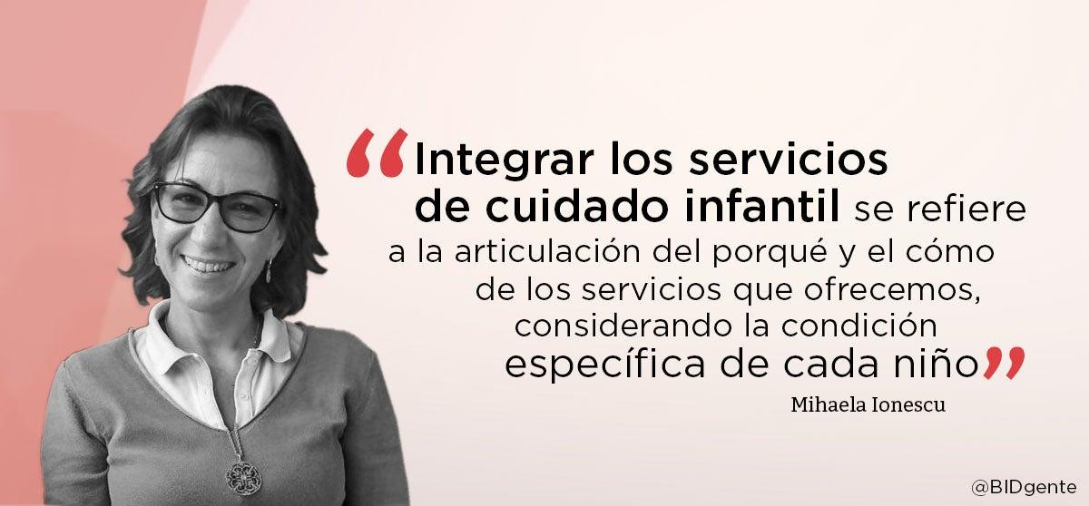 servicios integrados para la primera infancia