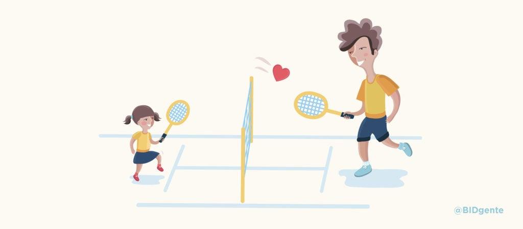 ¿Qué nos enseñan los tenistas sobre la crianza?