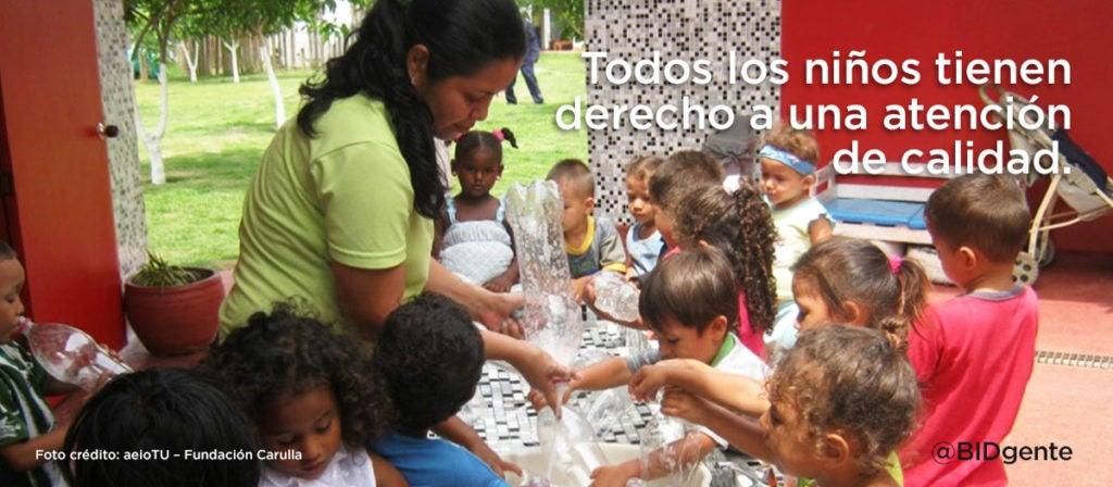 La comunidad que construyó su propio centro infantil