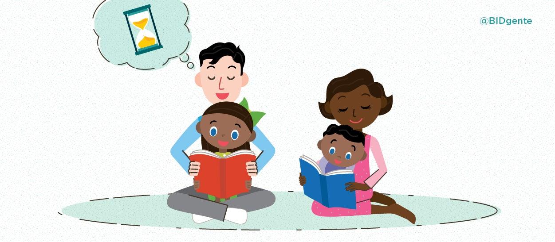 leer con los hijos