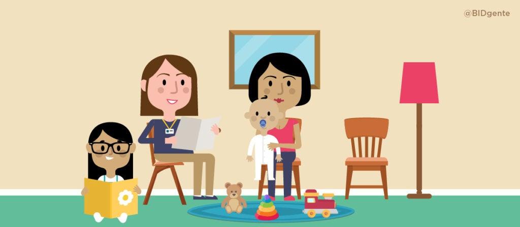 Tres factores para que las visitas domiciliarias de estimulación temprana sean efectivas