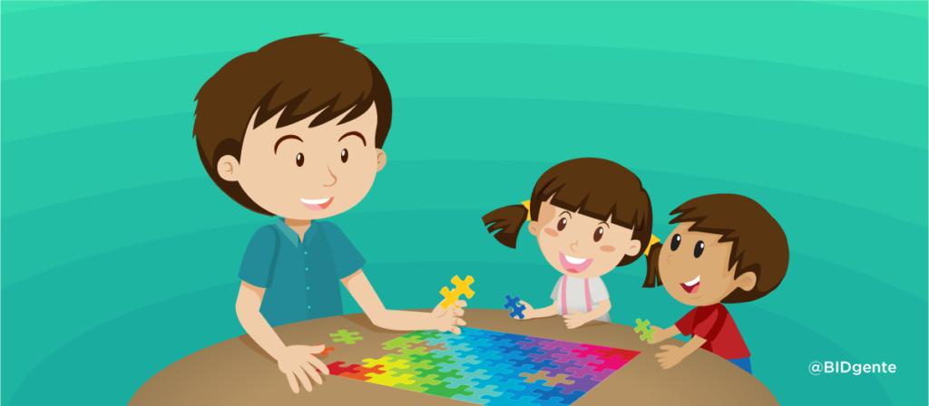 Jugar con los niños, ¿un tema de género?