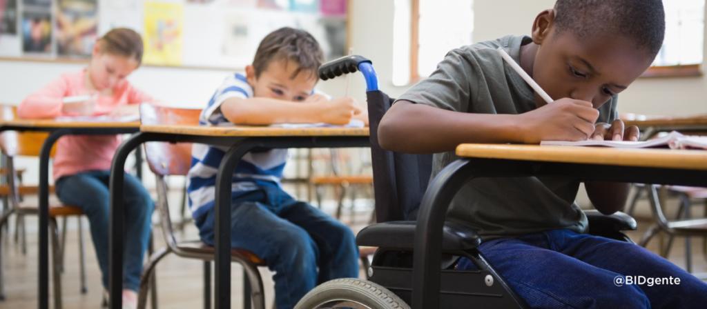 Inclusión comienza con i de infancia