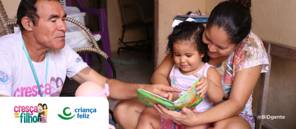 """Lecciones de """"Cresça com Seu Filho"""" para integrar servicios de primera infancia y salud"""