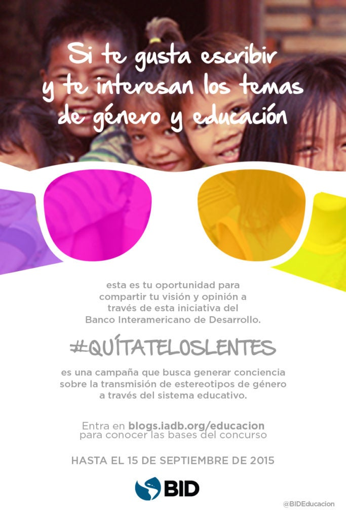 Concurso de blog posts #Quítateloslentes