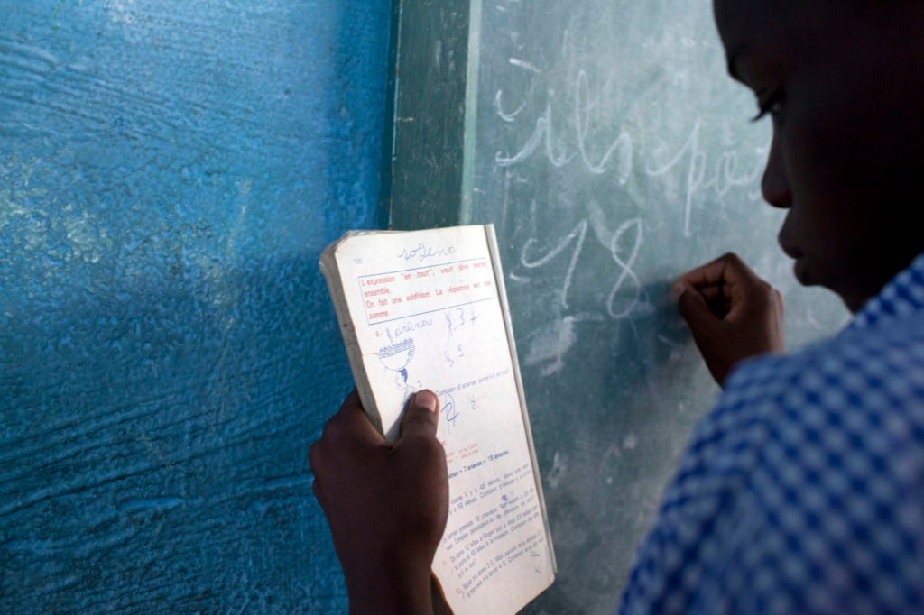 Quality infrastructure for quality education in Haiti
