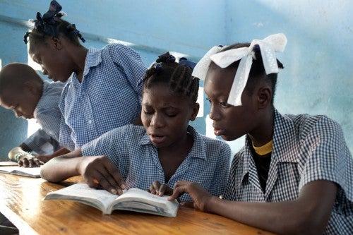 Haití: Evaluando matemáticas y lectura en siete pasos