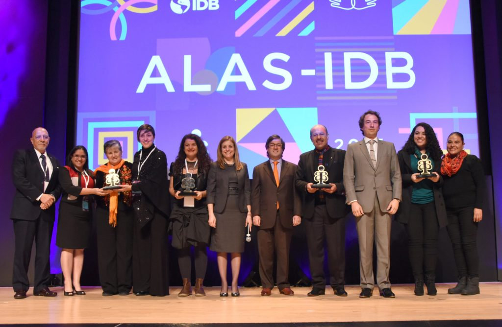 ALAS-IDB Award Winners Announced at the IDB Headquarters