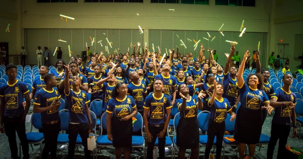 A Ganar: a life-changing experience for Barbadian youth