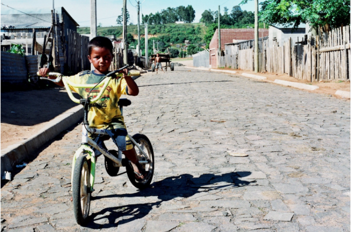 To school by bicycle: Paraguay's Bike Path