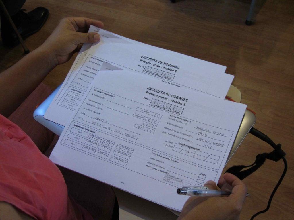 Alimentando las evaluaciones de impacto:  ¡las encuestas y la calidad de los datos importan!