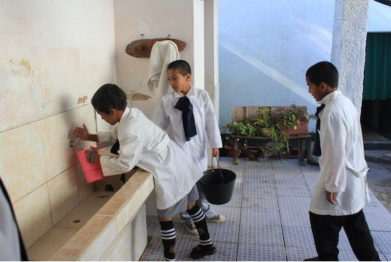 How important is clean water for education?