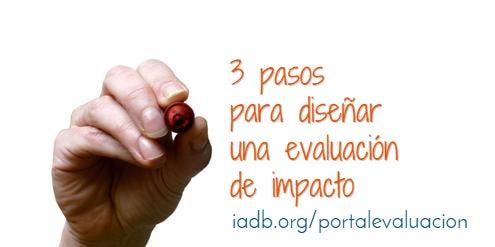 Lo que necesitas para diseñar una evaluación de impacto