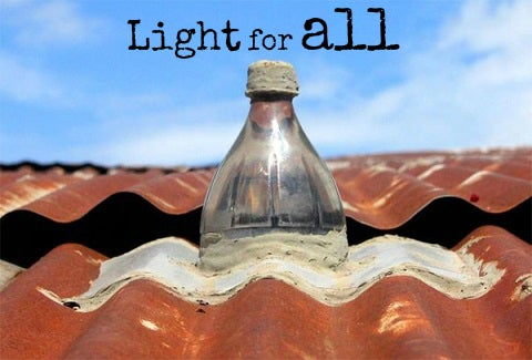 Turning trash into light – Liter of light