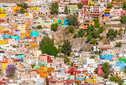 Habitat program: closing gaps in Mexico's formal neighborhoods